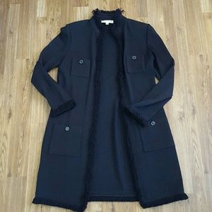 ST JOHN Collection Duster Long Sweater Sz10